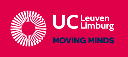 Logo: UC Leuven Limburg Moving minds